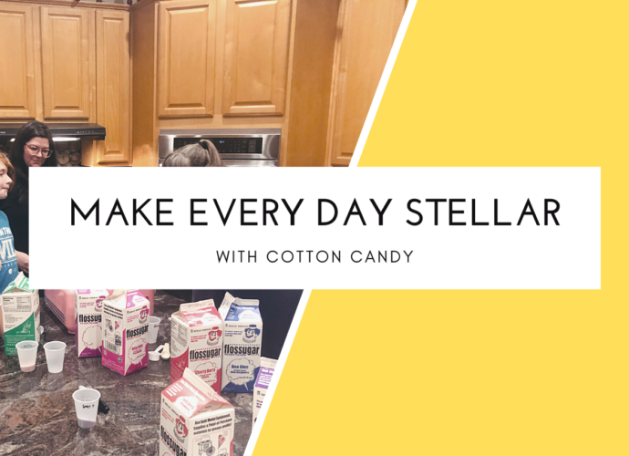 Make every day stellar with cotton candy
