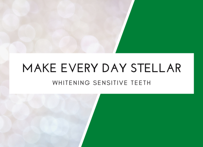 Whitening sensitive teeth