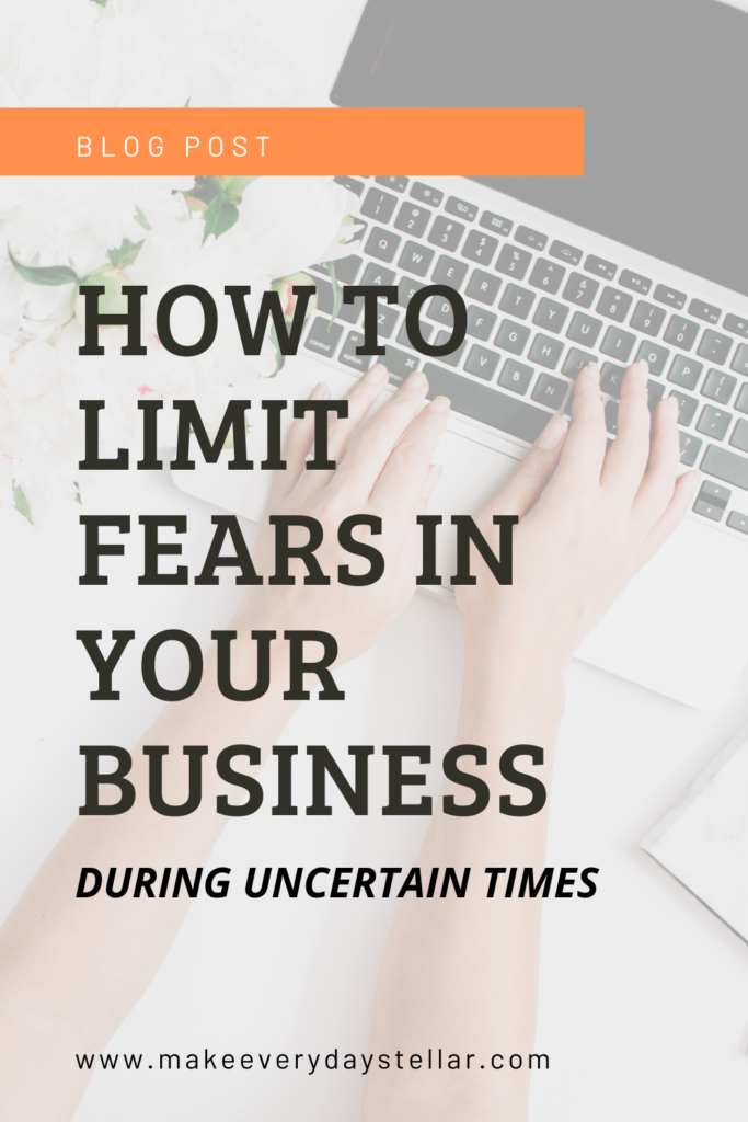 How To Limit Fear In Your Business