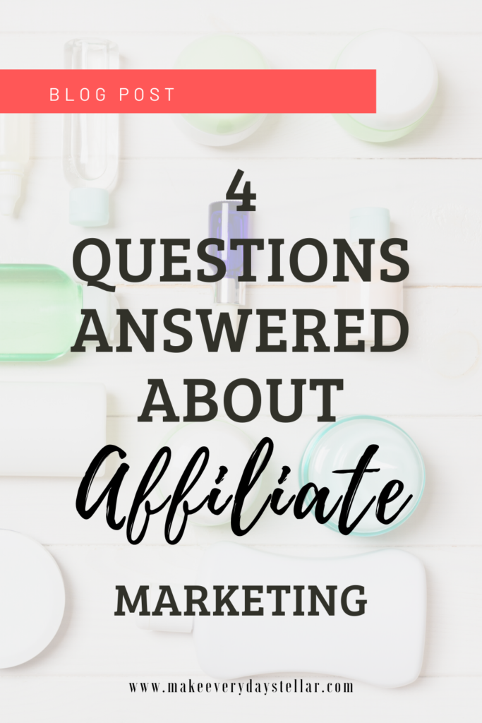 4 Questions Answered About Affiliate Marketing