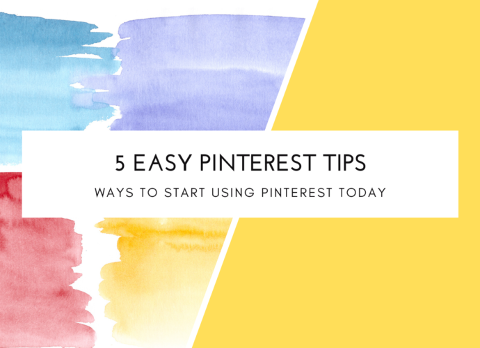 5 Easy Ways To Start Using Pinterest Today